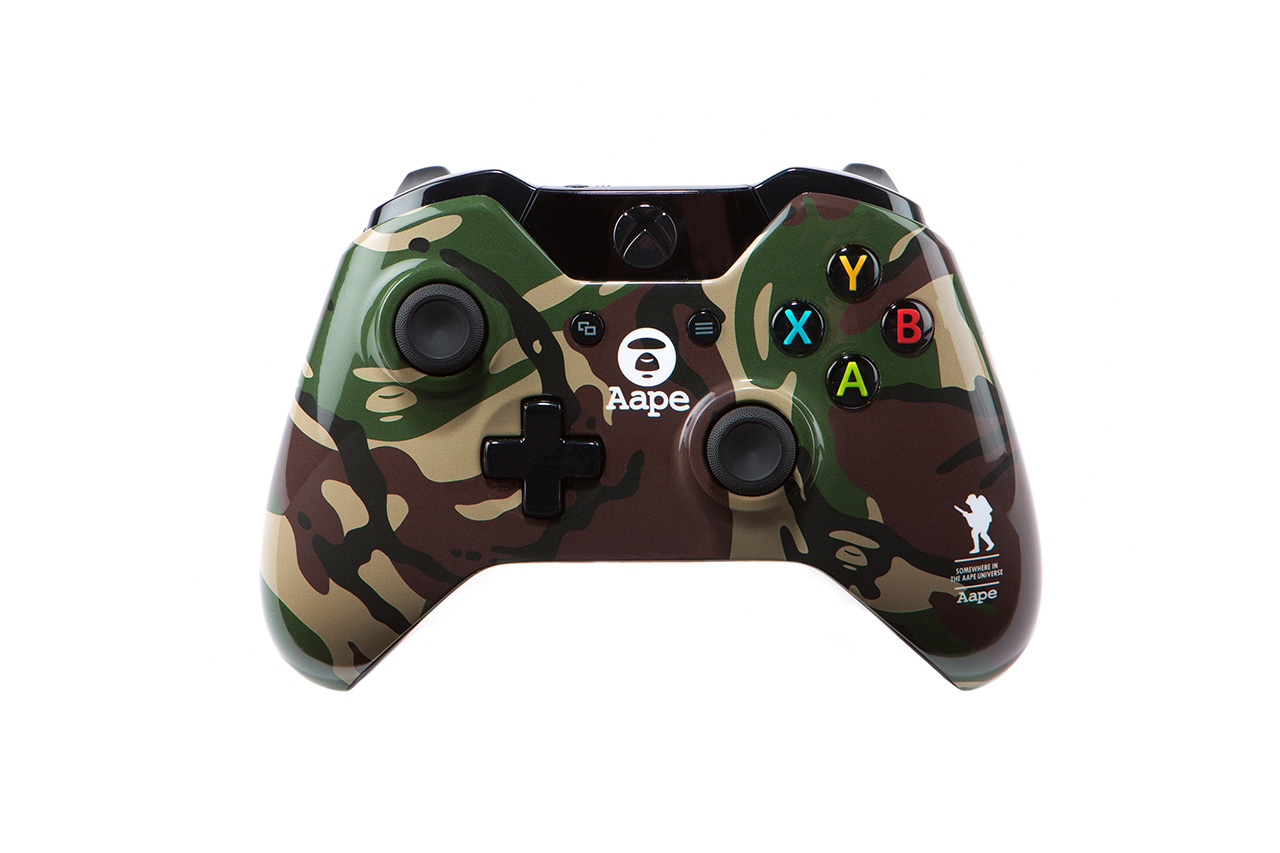 Image of Xbox One x AAPE by A Bathing Ape Capsule Collection