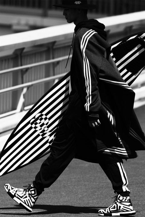 Image of Y-3 2014 Fall/Winter Editorial by ZINE Magazine
