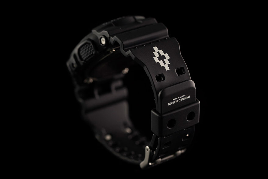 Image of A Closer Look at the Marcelo Burlon County of Milan x G-SHOCK GD-100-1BER