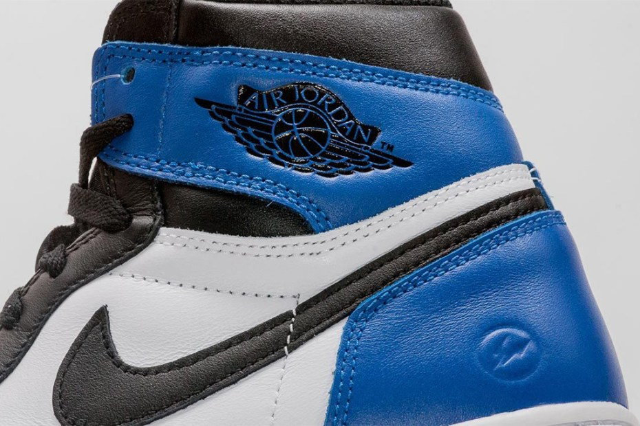 Image of A First Look at the fragment design x Air Jordan 1