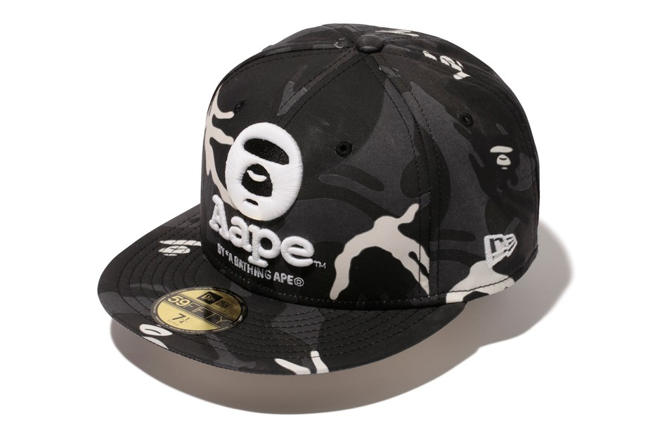 Image of AAPE by A Bathing Ape x New Era 2014 Fall/Winter Collection