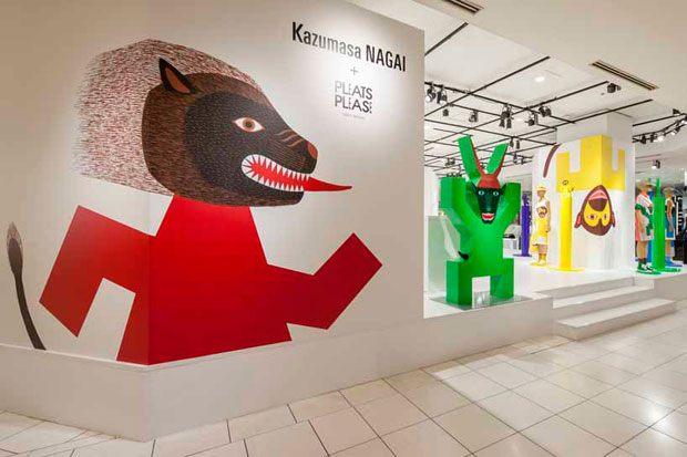Image of Kazumasa Nagai x PLEATS PLEASE ISSEY MIYAKE Pop-Up Store