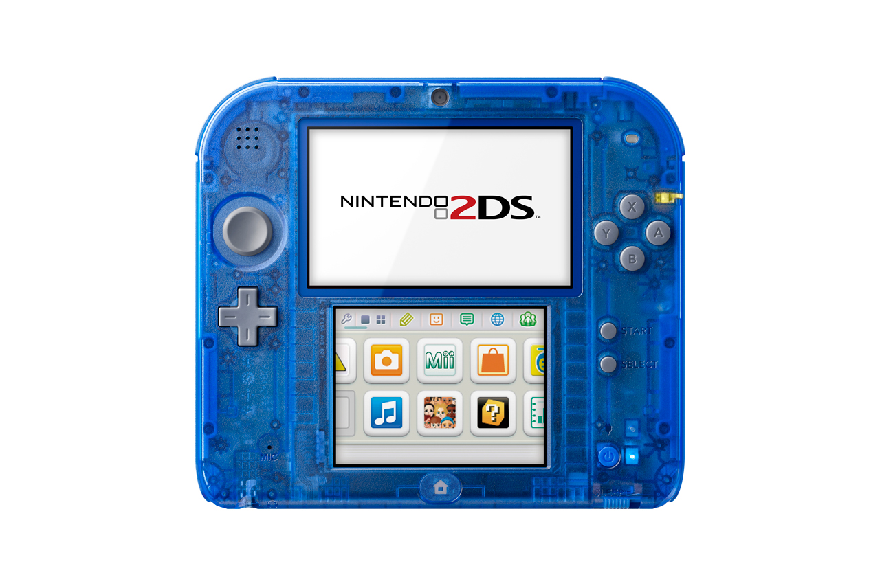 Nintendo Unveils Crystal Red and Crystal Blue 2DS Systems ...