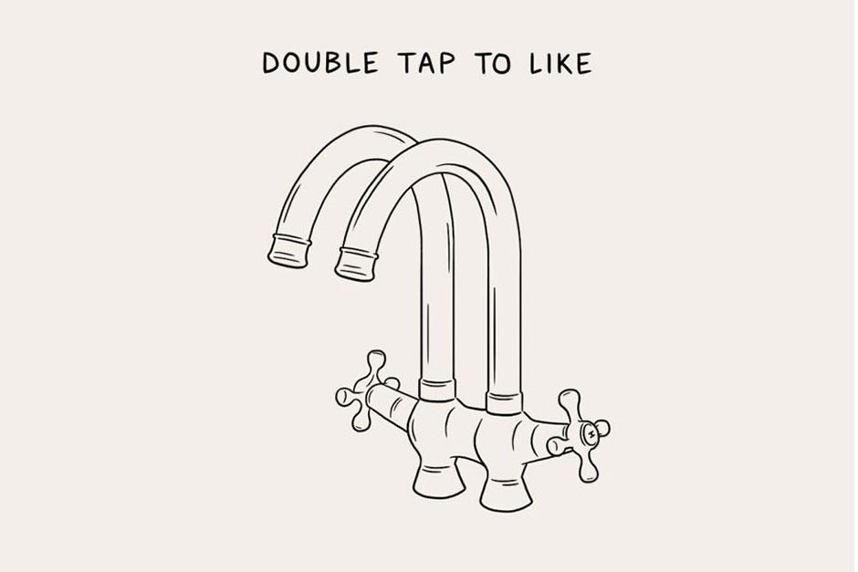Matt Blease Creates Illustrations That Poke Fun at Social