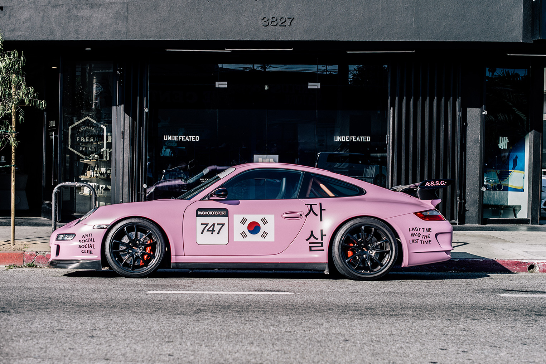 Dope Wallpaper Super Cars Anti Social Social Club Period Correct Porsche Gt3 Rs