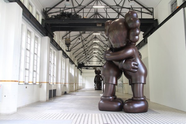 Kaws Wooden Sculpture
