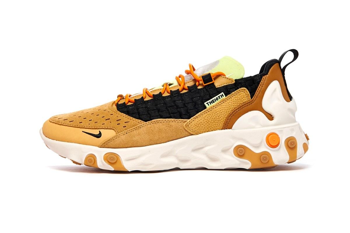 Nike React Sertu Club Gold Black-Wheat-Bright Ceramic AT5301-700 Release Info Date