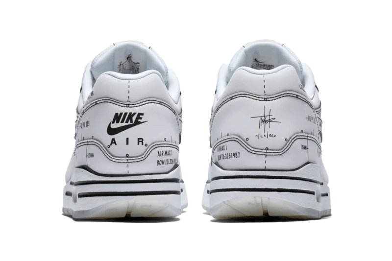 "Nike ""Sketch to Shelf"" ""Schematic"" Release date info buy colorway official imagery black white tinker hatfield july 12 2019"