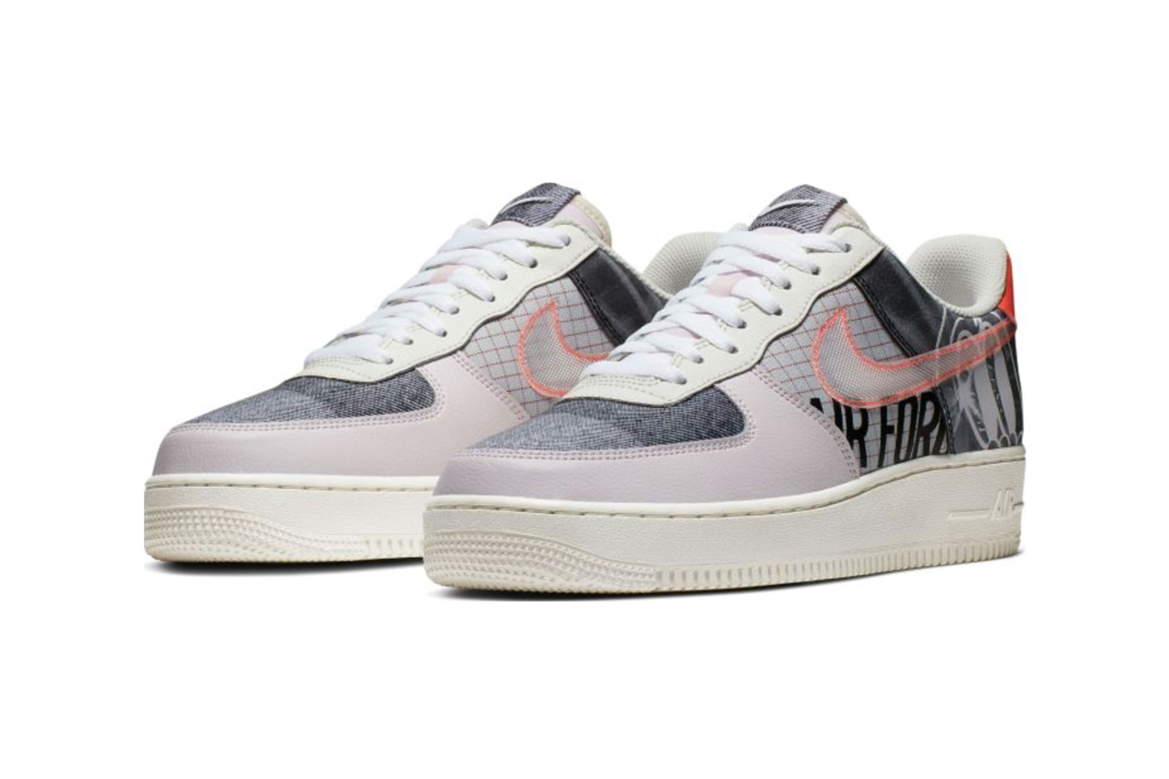 nike air force 1 zine sneakers pack release date september 2019 magazines print