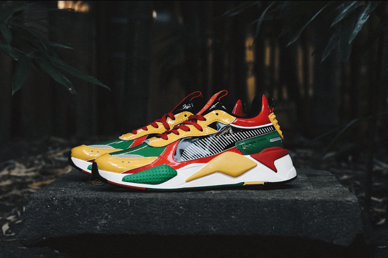 PUMA RS-X ATMOS 373960-01 sneaker exclusive collaboration november 30 2019 release date patent leather amazon green 20SP-S