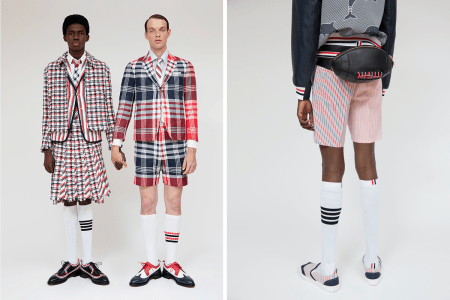 Thom Browne Launches SS20 Seersucker Capsule Featuring 18th-Century Silhouettes