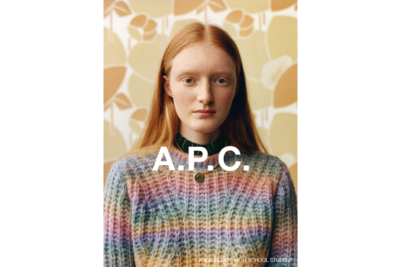 A.P.C. Fall/Winter 2020 Campaign Collection Release Information Jean Touitou Suzanne Kolle Julie Grève Photography Images FW20 Mens Womens Clothes Accessories Drops