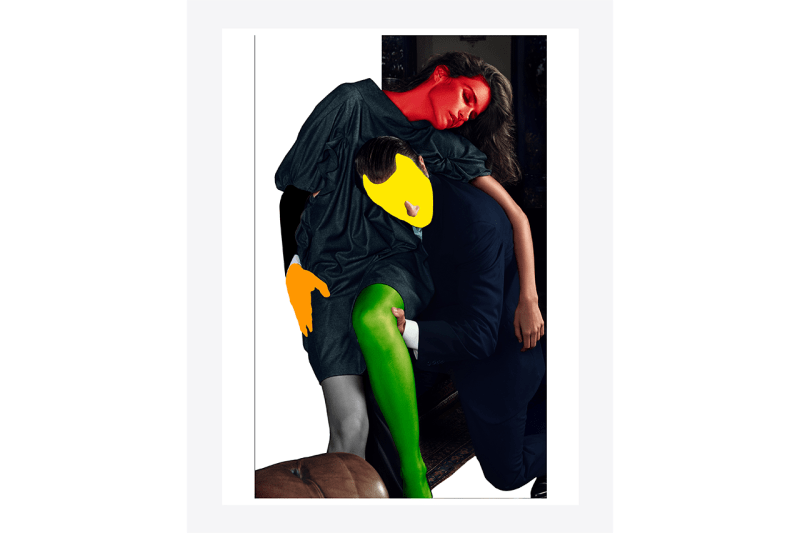 Saint Laurent Rive Droite Launch 'Noses Elbows and Knees' by Mario Sorrenti and John Baldessari Curated by Neville Wakefield Paris Los Angeles Stores Release Information Photography Books Half Gallery