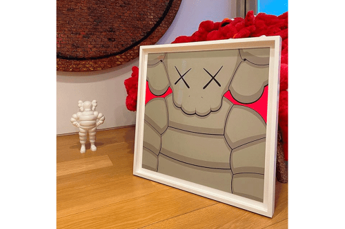 KAWS Teases Release of 'WHAT PARTY' Print