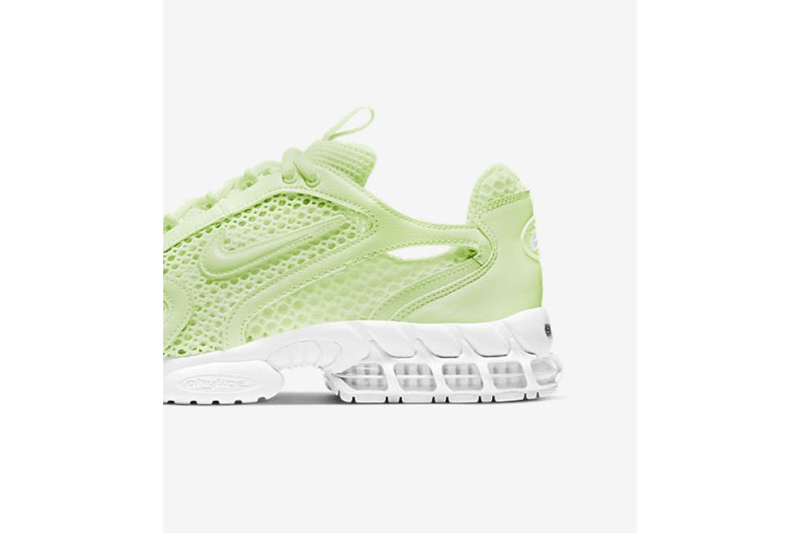 """Nike Air Zoom Spiridon Cage 2 """"Volt/White"""" CJ1288-700 Release Information First Look Closer Drop Date Hanon Shop Launches Summer Footwear Sneaker Swoosh OG Classic"""