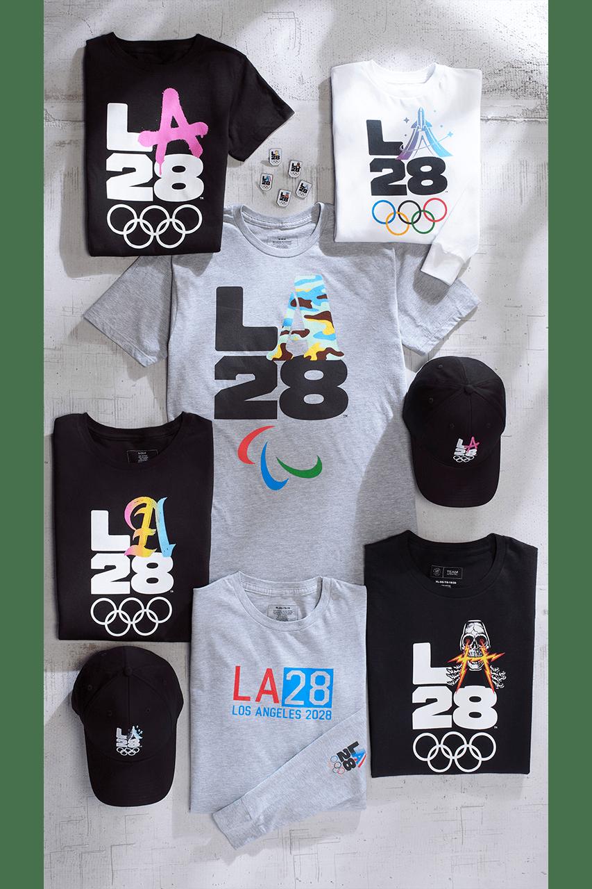 빌리 아일리시가 새롭게 디자인한 2028 로스앤젤레스 올림픽 로고의 모습은? 나이키 x 더 헌드레즈 머천다이즈 컬렉션
