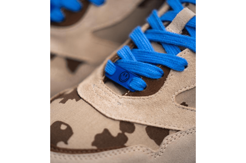 "KangaROOS Ultimate Made In Germany ""Veteran Desert"" Release Information Closer First Look United Nations Day Blue Helmet Suede Leather Camouflaged Print Pattern Colorway"