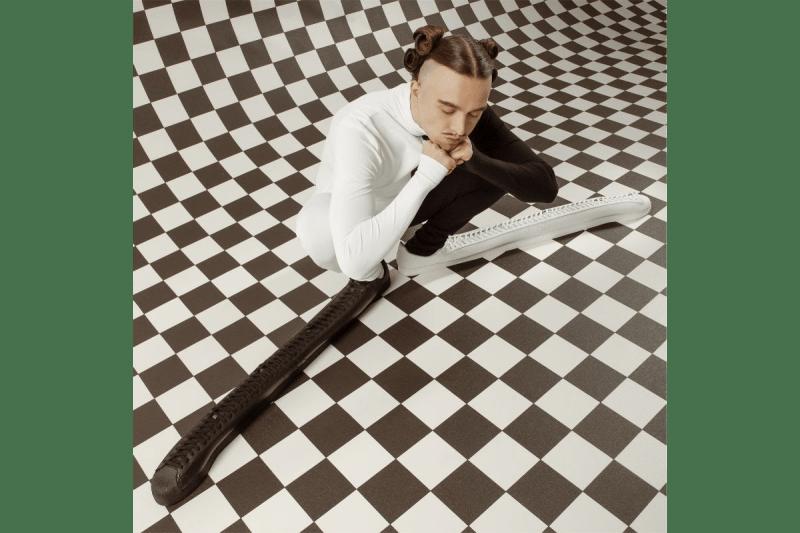 Tommy Cash x adidas Originals Superstar Clown Shoe Estonian Rapper TOMM¥ €A$H Three Stripes Shell Toe Yin Yang Print Closer Look Release Information Viral Shoes OG