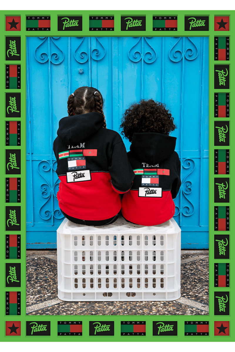 "Patta x Tommy Hilfiger ""Unity is Strength"" Info collaboration release information"