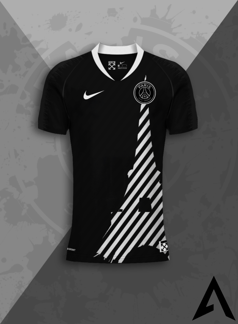 Photo Maillots Foot x Off-White™
