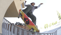 MOB GRIP COLORS -- Franky Lets His Freak Flag Fly