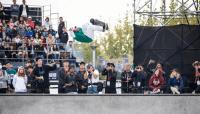 PEDRO BARROS GETS FIRST AT WORLD SKATE'S SKATEPARK CHAMPIONSHIPS