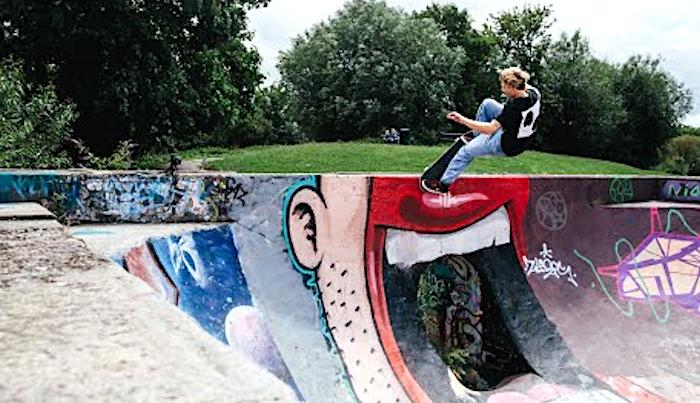 Watch Etnies' Aidan Campbell, Nick Garcia & Barney Page Skate The Joslin Vulc