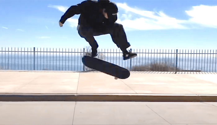 Jake Hayes Whips Out His Kickflip Trick Tip Clip