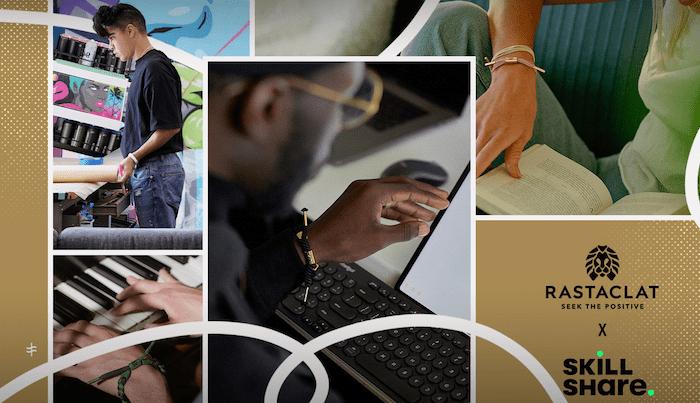 The Seek The Positive Foundation & Rastaclat Partner With Skillshare