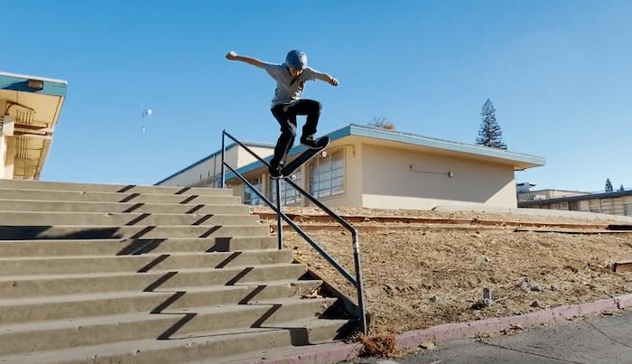 Watch Trae Montgomery's Santa Cruz Part Here