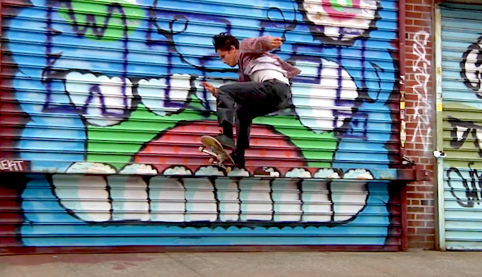 RVCA's Team Riders Hit The Streets Of NYC
