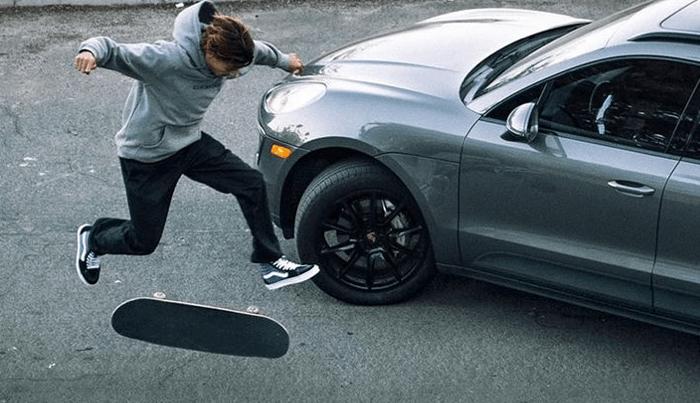 Curren Caples Gets The Porsche Bump In Recent Social Campaign