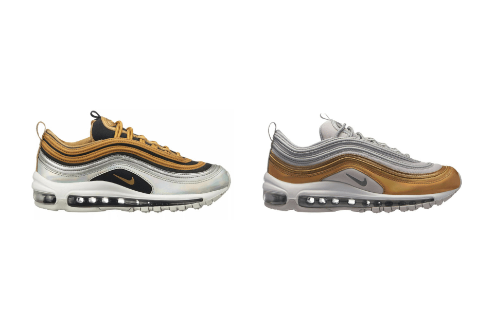 This Nike Air Max 97 Fuses The Silver Bullet With The