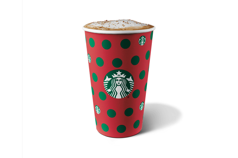 Starbucks Holiday 2019 Drink Menu Eggnog Latte