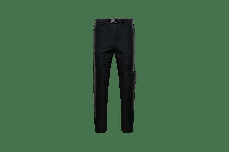 6 MONCLER 1017 ALYX 9SM Collection Buckle Pants Black