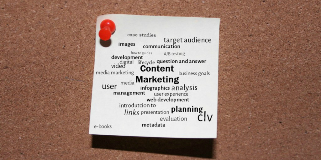 Die Grundpfeiler des Content Marketing