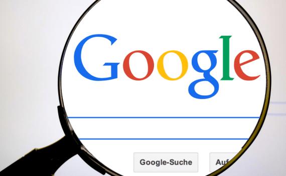 Google Suche Lupe