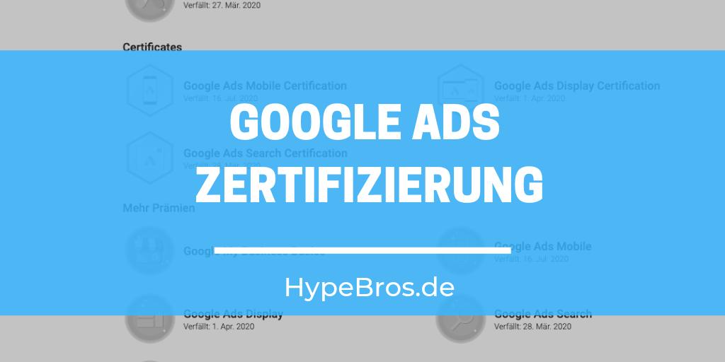 Google Ads Zertifizierung – Welche Möglichkeiten gibt es?