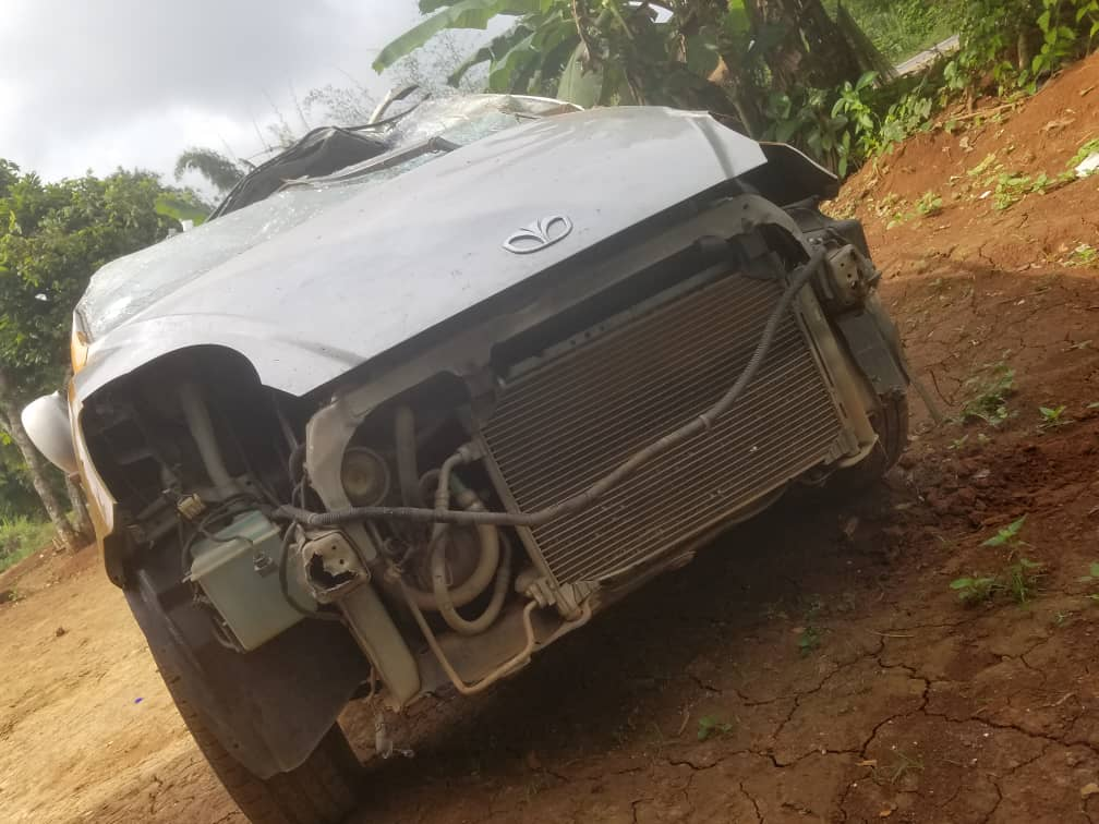 Four EC officials involved in an accident
