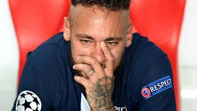 Neymar left in tears after losing UEFA champions league final (Photos)