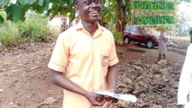 26-year-old lotto forecaster gives interesting reason for writing BECE after his first paper