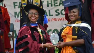 Family Health Medical School female Graduate sweeps awards
