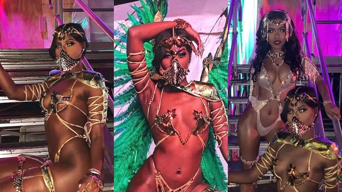 Image result for Buju Banton Daughter Abihail Flaunts Flawless Skin In Game of Thrones-Inspired Carnival Costume