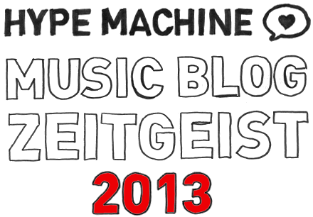 The Most Blogged Artists of 2013 / Hype Machine