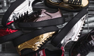 PUMA Elevates Its Court Classics With The Suede & Basket Platform [SneakPeak] 16AW CONSUMER SP PRIME BASKET METALLIC GROUP 3lo