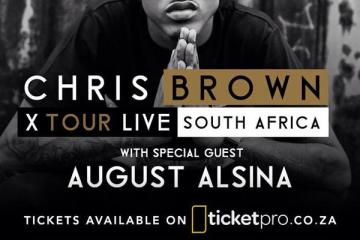 August Alsina To Join Chris Brown on SA Tour August Alsina