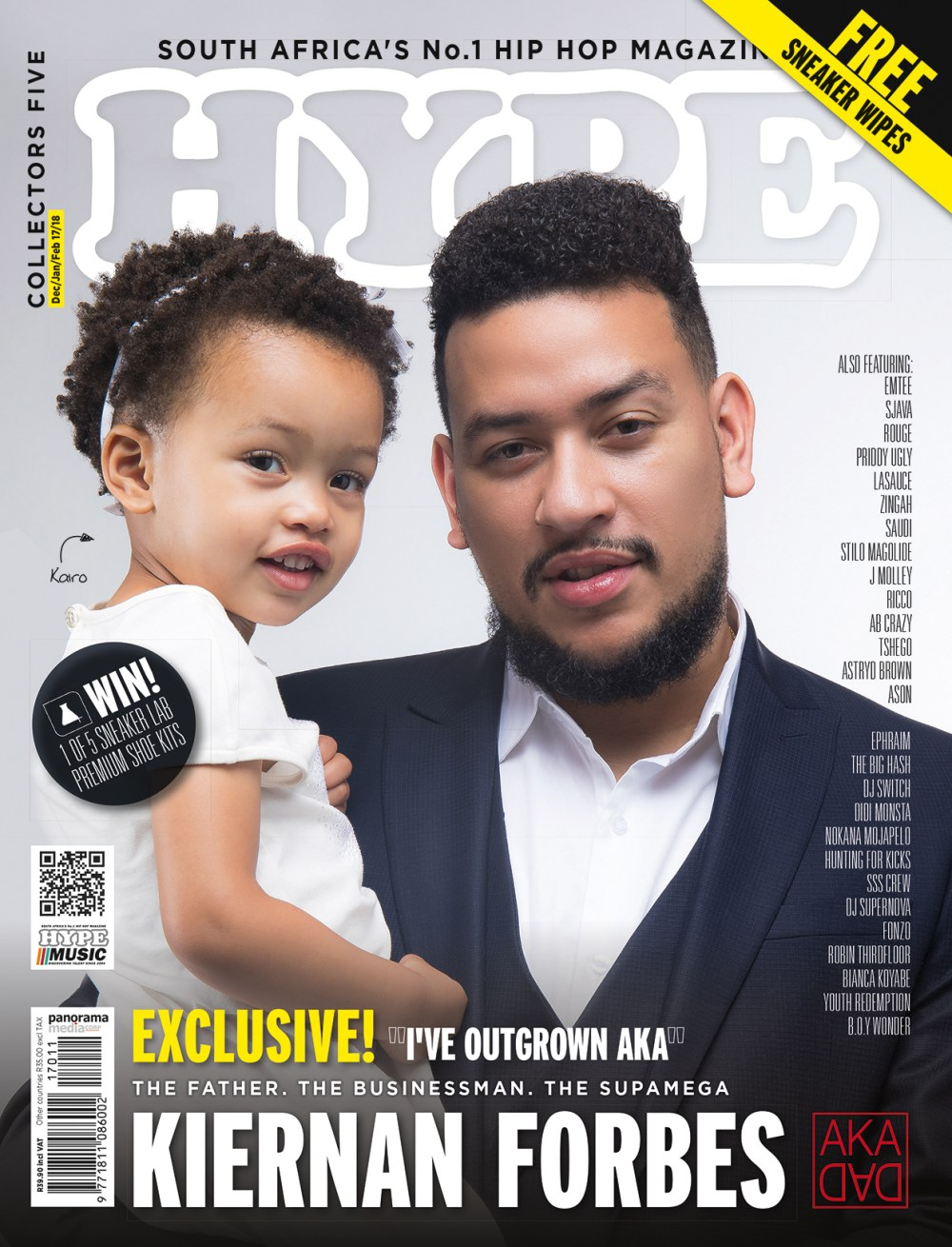 HYPE Magazine Collectors Five Ft. Kiernan & Kairo Forbes HYPE77 OFC featuring