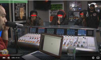 Watch Joey Bada$$, Nyck Caution & Kirk Knight Freestyle On HOT 97 era 1