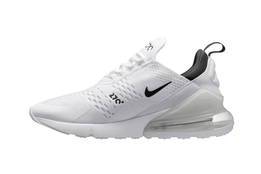 nike air max 270 Nike Air Max 270 'Core White' [SneakPeak] nike air max 270 white black another look 02