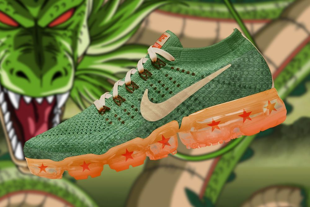 Checkout These Ultimate 'Dragon Ball Super' x Nike Air VaporMax Collaboration [SneakPeak] dragon ball super nike air vapormax renders 1